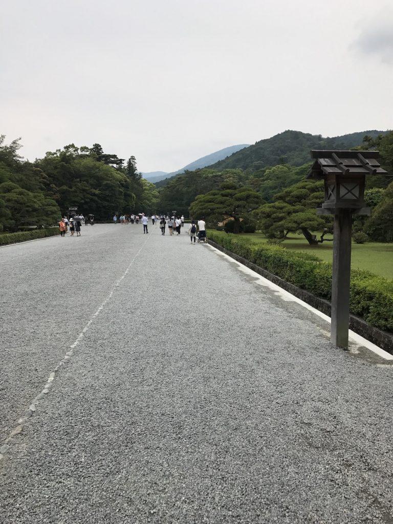 伊勢神宮参道