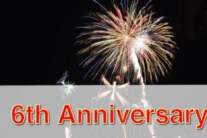 6周年のお祝い